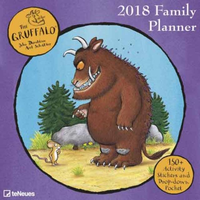 2018 GRUFFALO 30 X 30 FAMILY PLANNER