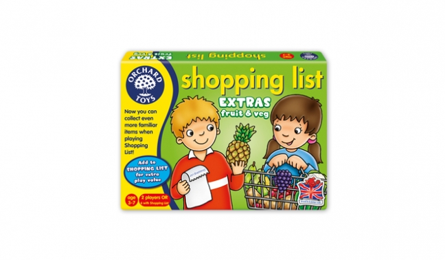 GAME - SHOPPING LIST EXTRAS: FRUIT & VEG