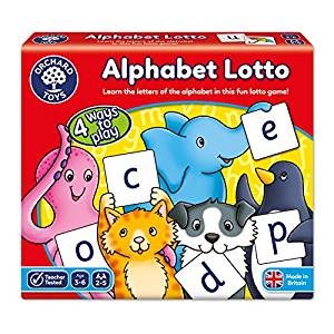 GAME - ALPHABET LOTTO