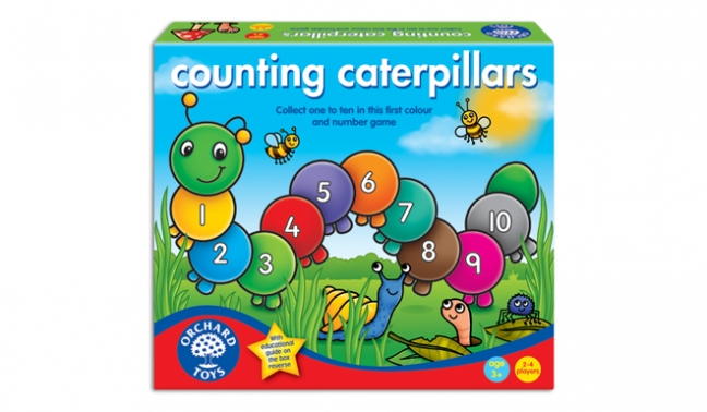 GAME - COUNTING CATERPILLARS