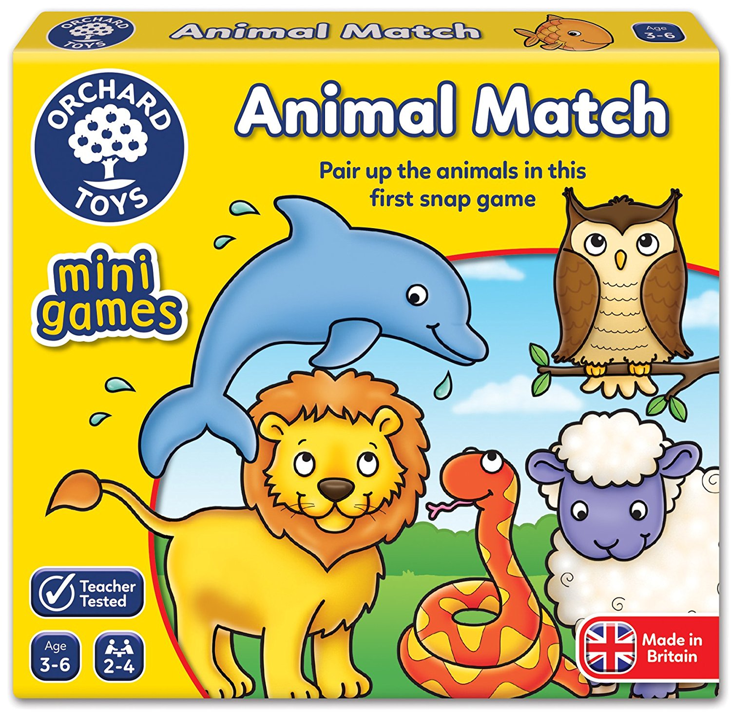 GAME - ANIMAL MATCH