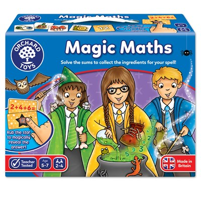 GAME - MAGIC MATHS