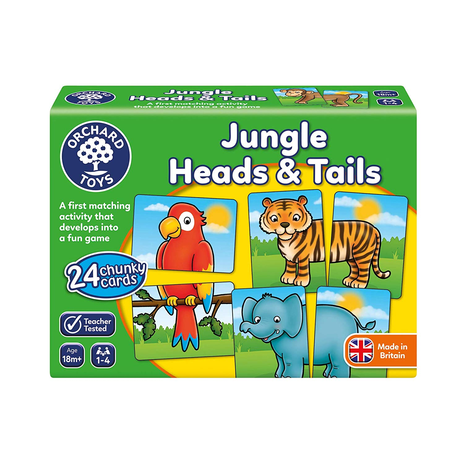 GAME - JUNGLE HEADS & TAILS