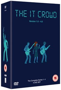 DVD - IT CROWD SERIES 1-4