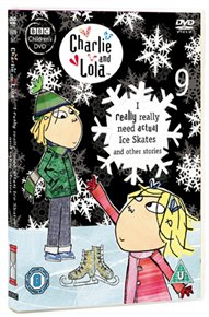DVD - CHARLIE AND LOLA: I REALLY REALLY NEED ACTUAL ICE SKATES...
