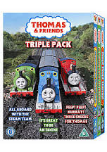 DVD - THOMAS & FRIENDS TRIPLE PACK