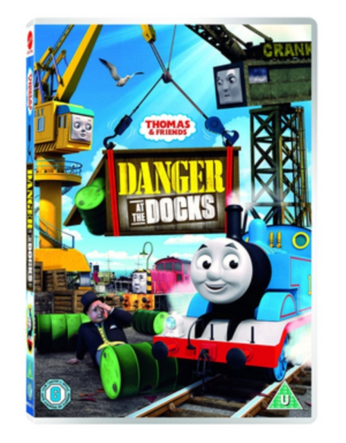 DVD - THOMAS & FRIENDS: DANGER AT THE DOCKS