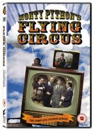 DVD - MONTY PYTHON'S FLYING CIRCUS COMPLETE FOURTH SERIES