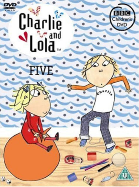 DVD - CHARLIE AND LOLA: FIVE