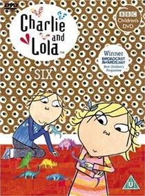 DVD - CHARLIE AND LOLA: SIX