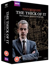 DVD - THE THICK OF IT: SERIES 1-3