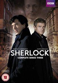 DVD - SHERLOCK SERIES 3
