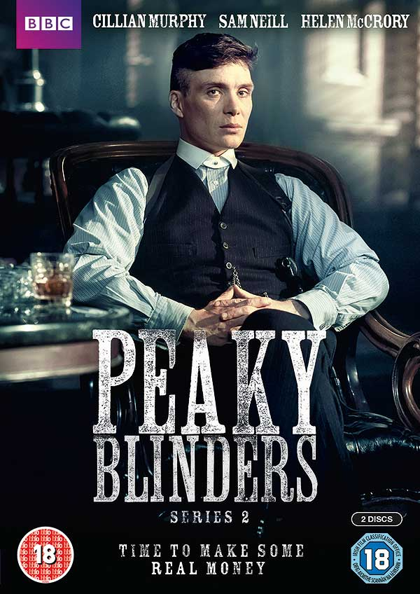 DVD - PEAKY BLINDERS: SERIES 2