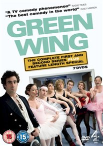 DVD - GREEN WING: DEFINITIVE EDITION