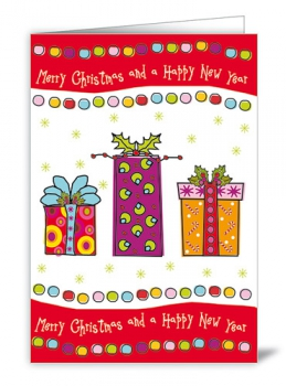 CARD - MERRY CHRISTMAS (WITH ENVELOPE)
