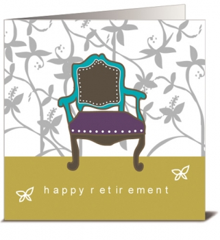 HAPPY RETIREMENT CARD WITH ENVELOPE