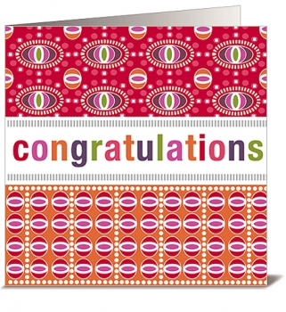 CARD - CONGRATULATIONS (WITH ENVELOPE)