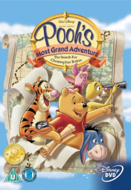 DVD - WINNIE THE POOH: WINNIE THE POOH'S MOST GRAND ADVENTURE
