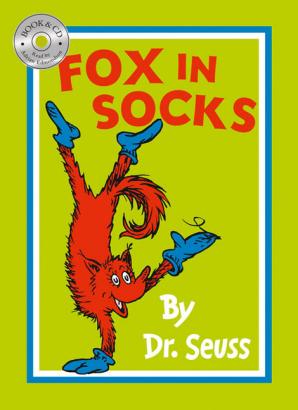 FOX IN SOCKS & CD