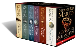 A SONG OF ICE AND FIRE - A GAME OF THRONES: THE COMPLETE BOX SET OF ALL 6 BOOKS