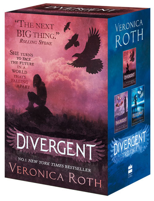 DIVERGENT SERIES BOX SET (BOOKS 1 TO 3)