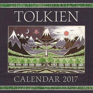 TOLKIEN CALENDAR 2017 : THE HOBBIT 80TH ANNIVERSARY