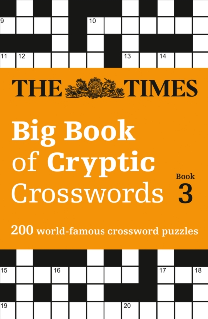 THE TIMES BIG BOOK OF CRYPTIC CROSSWORDS BOOK 3