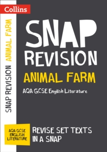 ANIMAL FARM: NEW GRADE 9-1 GCSE ENGLISH LITERATURE AQA TEXT GUIDE