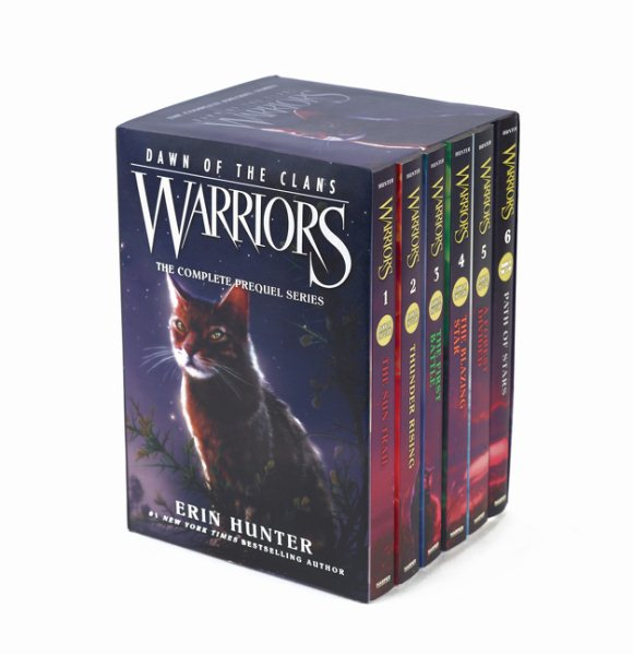 WARRIORS DAWN OF THE CLANS BOX SET