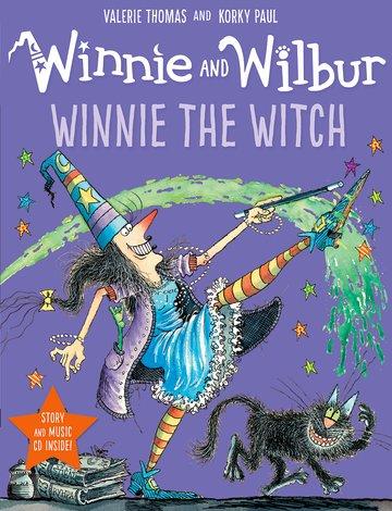 WINNIE THE WITCH & CD
