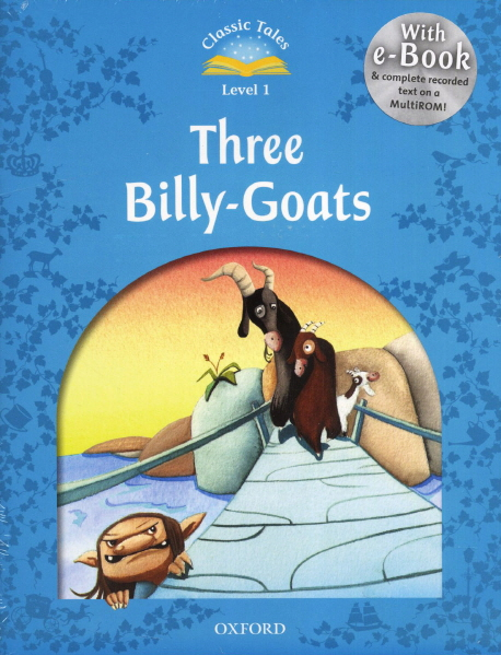 THREE BILLY-GOATS + E-BOOK AND AUDIO CD (LEVEL 1)