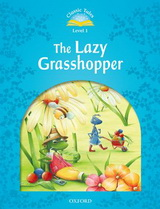 CLASSIC TALES 1 - THE LAZY GRASS HOPPER ACTIVITY BOOK AND PLAY