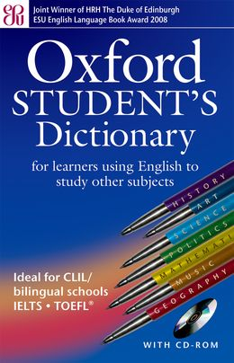 OXFORD STUDENT'S DICTIONARY AVEC CD-ROM 2EME EDITION