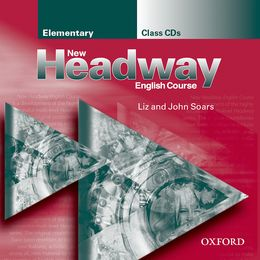 NEW HEADWAY ELEMENTARY CLASS AUDIO CDS (2)