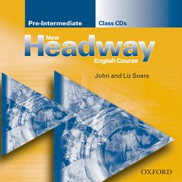 NEW HEADWAY PRE-INTERMEDIATE CLASS AUDIO CDS (2)