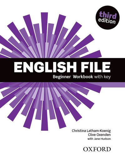 ENGLISH FILE 3RD EDITION BEGINNER WORKBOOK WITH ANSWER BOOKLET