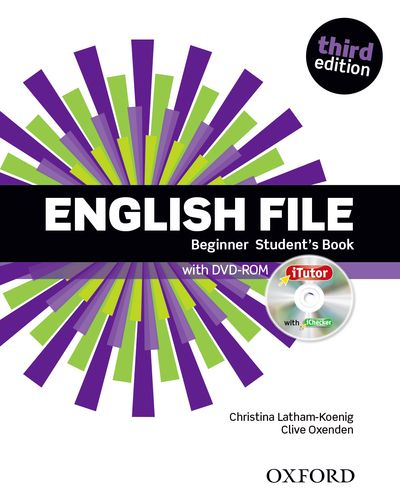 ENGLISH FILE 3RD EDITION BEGINNER STUDENT'S BOOK & ITUTOR PACK