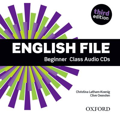 ENGLISH FILE 3RD EDITION BEGINNER: CLASS AUDIO CDS (5)