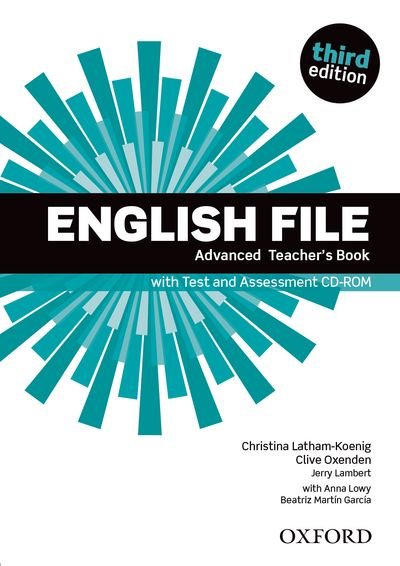 ENGLISH FILE 3RD EDITION ADVANCED TEACHER'S BOOK & TEST ASSESSMENT CD-ROM PACK