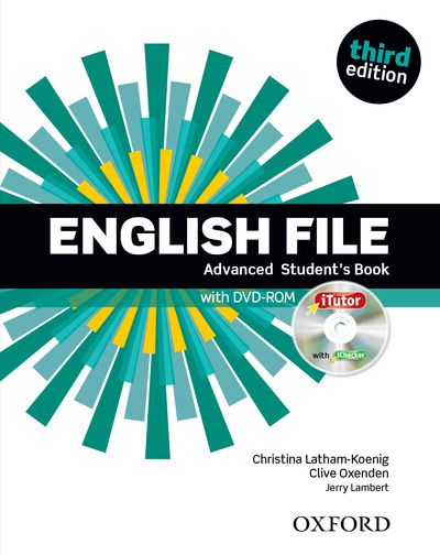 ENGLISH FILE 3RD EDITION ADVANCED STUDENT'S BOOK & ITUTOR PACK