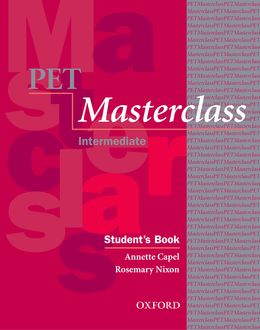 PET MASTERCLASS: ELEVE ET MODULE D'INTRODUCTION