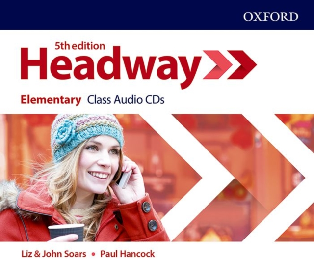 HEADWAY 5TH EDITION ELEMENTARY CLASS AUDIO CDS