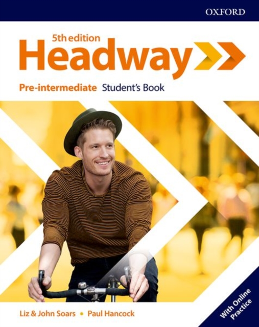 HEADWAY 5TH EDITION PRE-INTERMEDIATE STUDENT'S BOOK WITH ONLINE PRACTICE