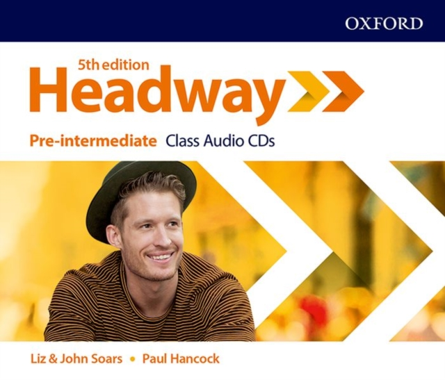 HEADWAY 5TH EDITION PRE-INTERMEDIATE CLASS AUDIO CDS