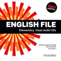ENGLISH FILE 3RD EDITION ELEMENTARY CLASS AUDIO CDS (4)