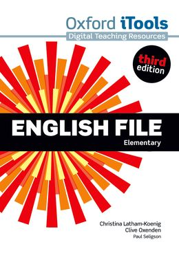 ENGLISH FILE 3RD EDITION ELEMENTARY ITOOLS DVD-ROM