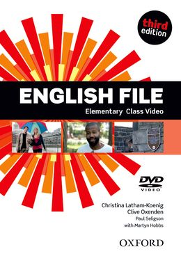 ENGLISH FILE 3RD EDITION ELEMENTARY CLASS DVD