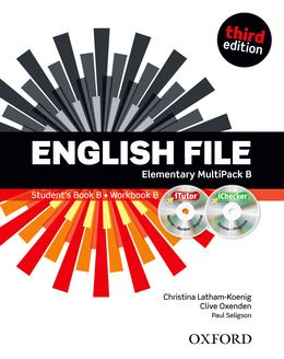 ENGLISH FILE 3RD EDITION ELEMENTARY MULTIPACK B