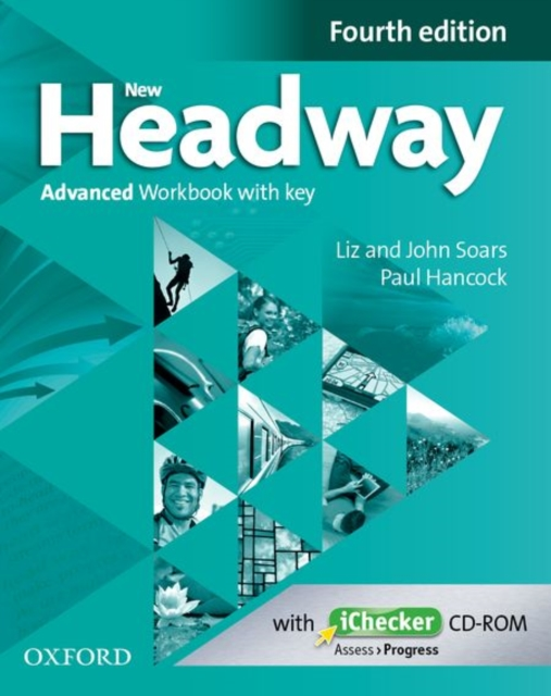 NEW HEADWAY 4TH EDITION ADVANCED WORKBOOK WITH KEY AND ICHECKER CD PACK
