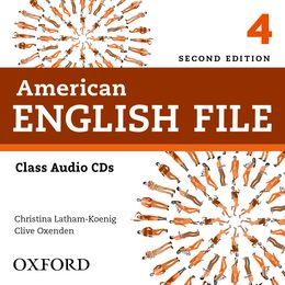 AMERICAN ENGLISH FILE 4 CLASS AUDIO CDS (4) (2ND EDITION)